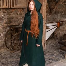 Capa de lana enya, verde