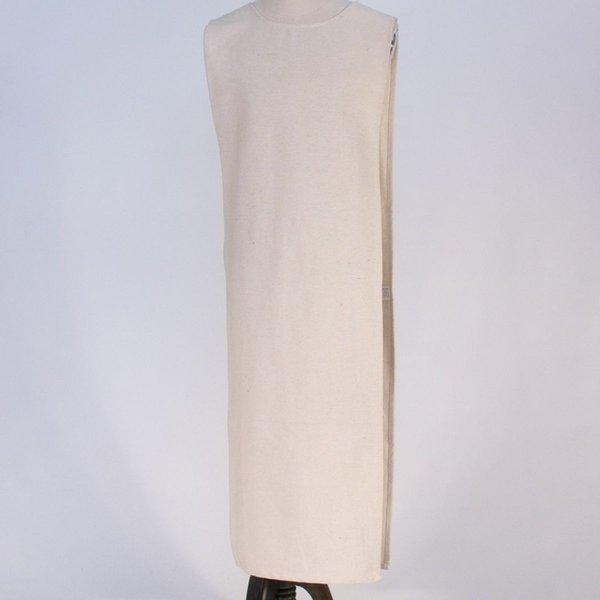 Burgschneider Middeleeuwse tabberd / overkleed, wit