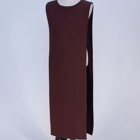 Burgschneider Tabardo / abrigo medievales, marrón