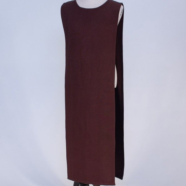 Burgschneider Middeleeuwse tabberd / overkleed, bruin