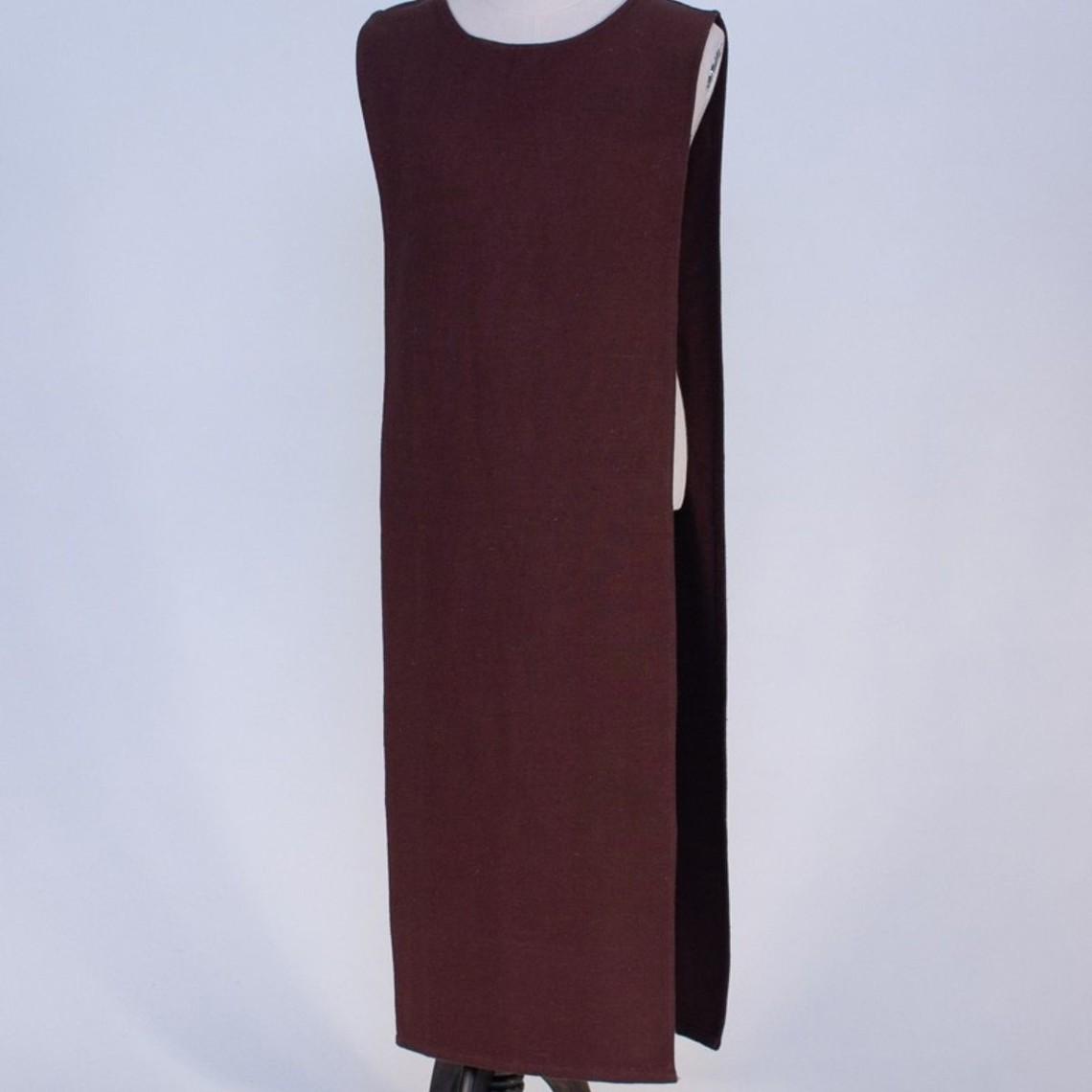 Burgschneider Tabard / manteau médiéval, marron