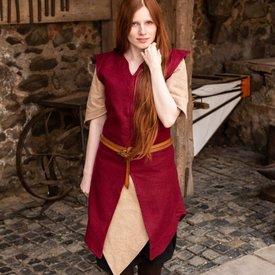 Burgschneider Tunic Meril, wool, red