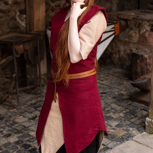 Burgschneider Tuniek Meril, wol, rood