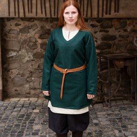 Burgschneider Tunic shield-maiden Hyria wool, green