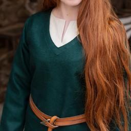 Tunika Schild-Mädchen Hyria Wolle, grün