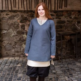 Burgschneider Tunic shield-maiden Frekja, grey
