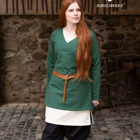 Burgschneider Tunika Skjold-jomfru Frekja, grøn