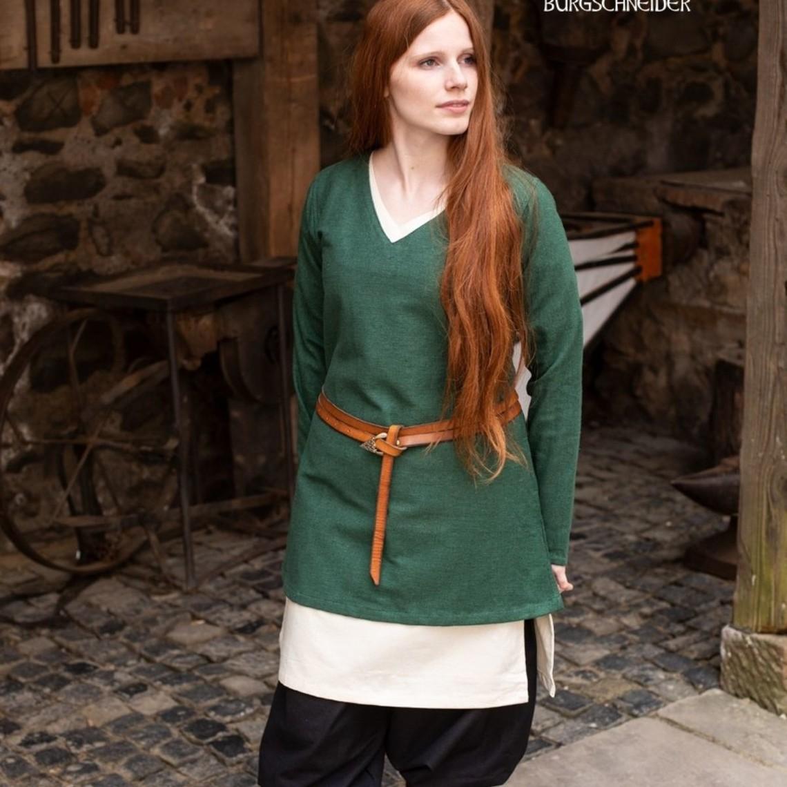 Burgschneider Tunique bouclier-jeune fille Frekja, vert