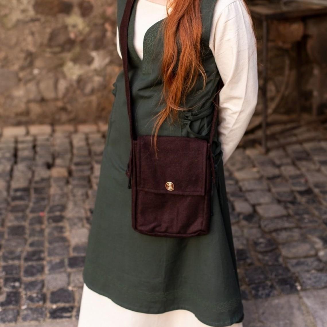 Burgschneider Borsa di lana Juna, marrone