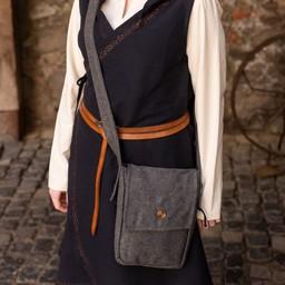 Bolsa de lana Juna, gris oscuro.