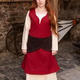 Woolen belt Ketra, brown