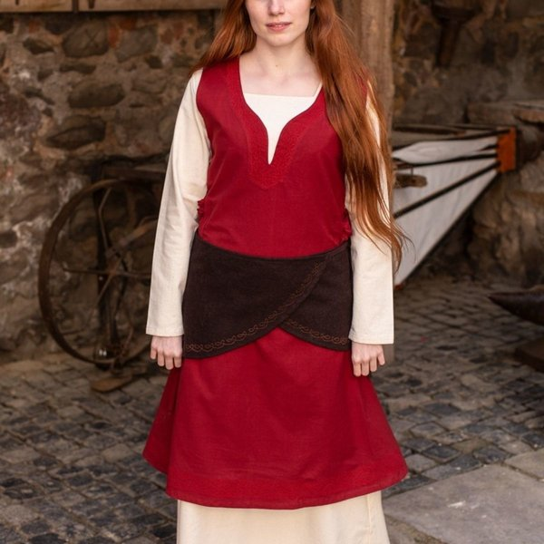 Burgschneider Woolen belt Ketra, brown