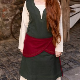 Burgschneider Cintura di lana Ketra, rossa