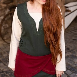 Cinturón de lana Ketra, rojo