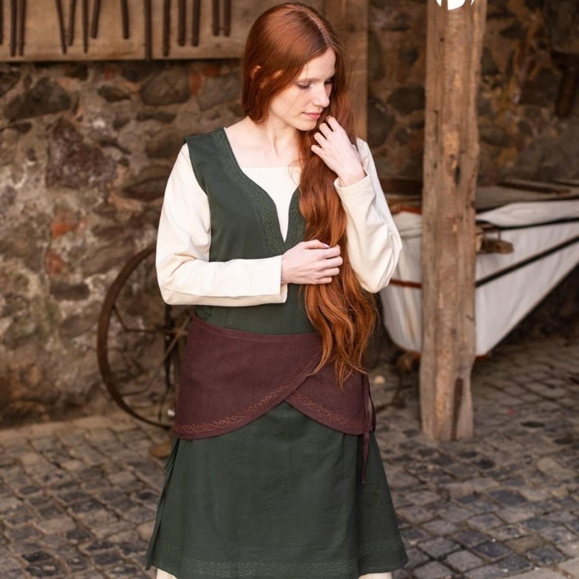 Burgschneider Cinturón de tela Sora, marrón