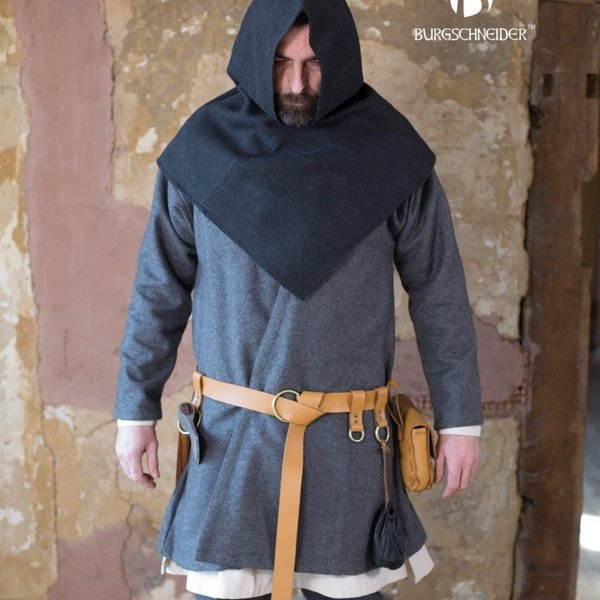 Burgschneider Motivo de espiga de acompañante Knud, negro gris