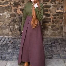 Skirt Mera, brown