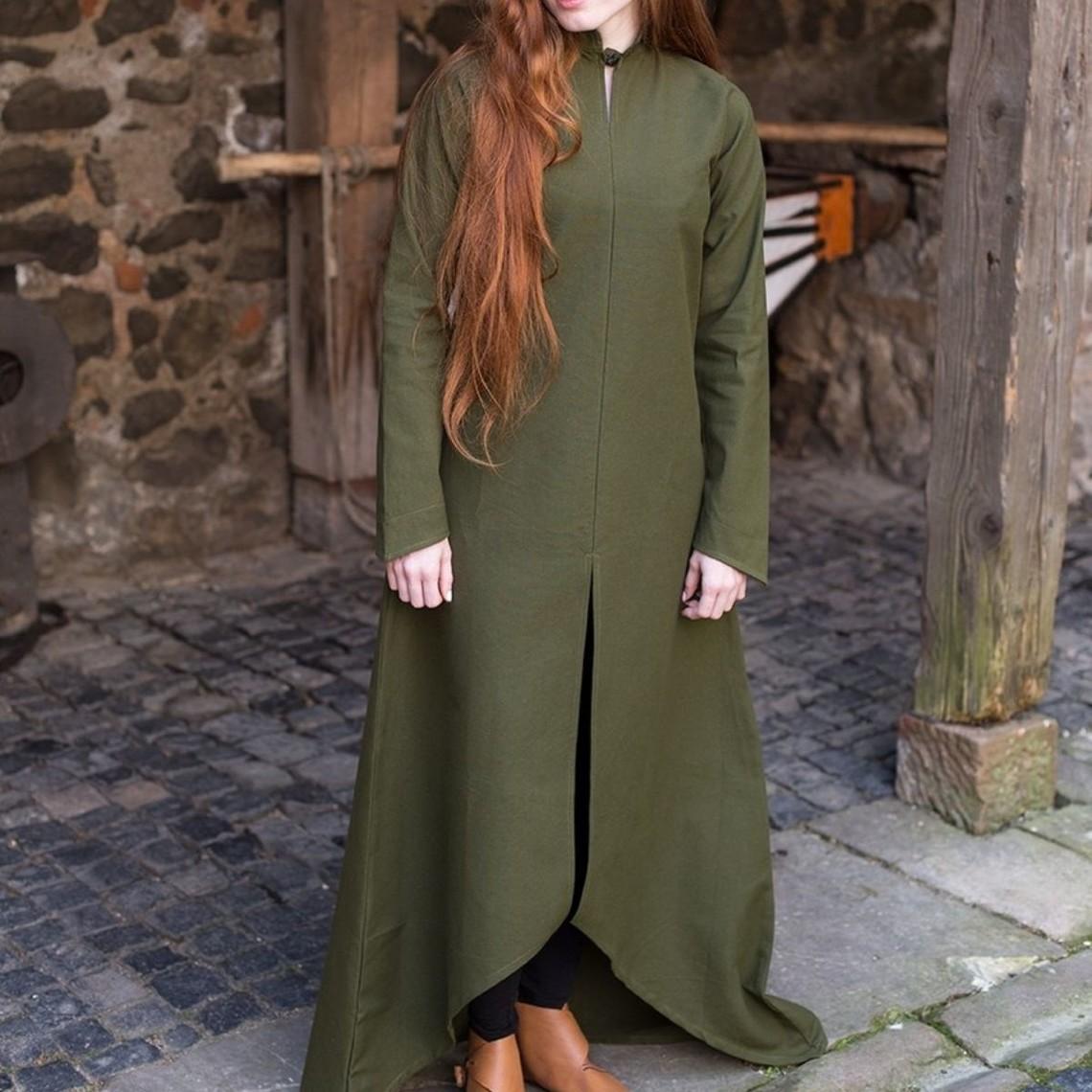 Burgschneider Vestido Ranwen, verde oliva