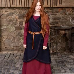 Wool Wrap dress Myrana, niebieski