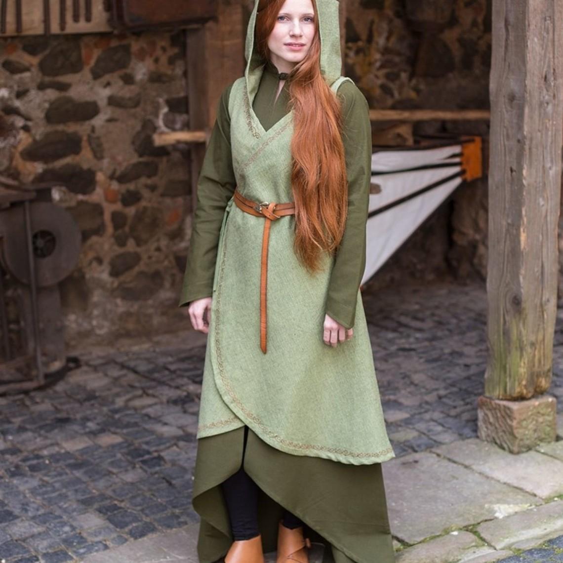 Burgschneider Robe portefeuille Dala, vert tilleul