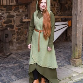 Burgschneider Wrap kjole Dala, lind grøn