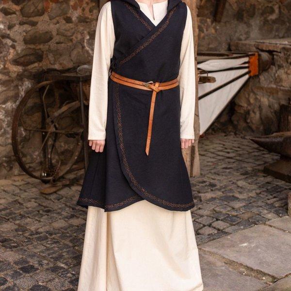 Burgschneider Wrap dress Dala, black