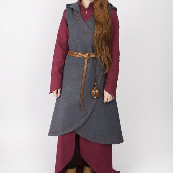 Burgschneider Wrap dress Dala, grey