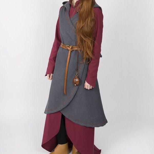 Burgschneider Wrap kjole Dala, grå