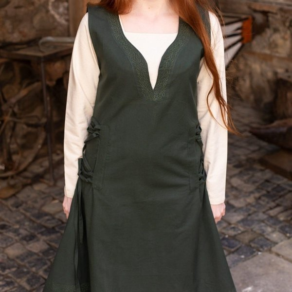 Burgschneider Sukienka Lannion, zielony