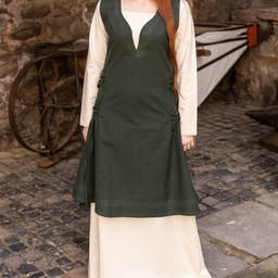 Dress Lannion, green