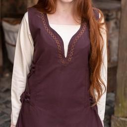 Sukienka Lannion, brązowy