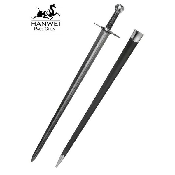 CAS Hanwei Sir William Marshall zwaard met damascusstalen kling