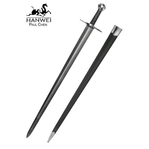 CAS Hanwei Sir William Marshall Sword med damaskusstål klinge