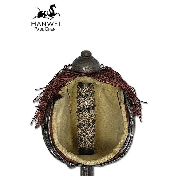 CAS Hanwei Schotse basket hilt backsword, antieke versie