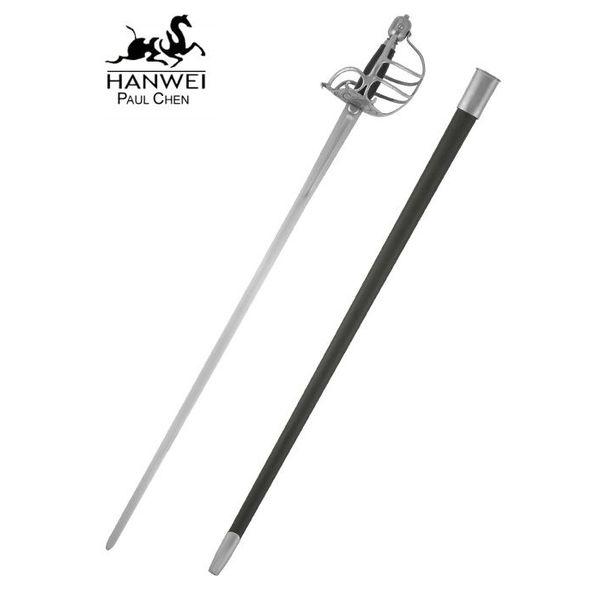 CAS Hanwei Bitwa gotowe kostnica rękojeść miecza