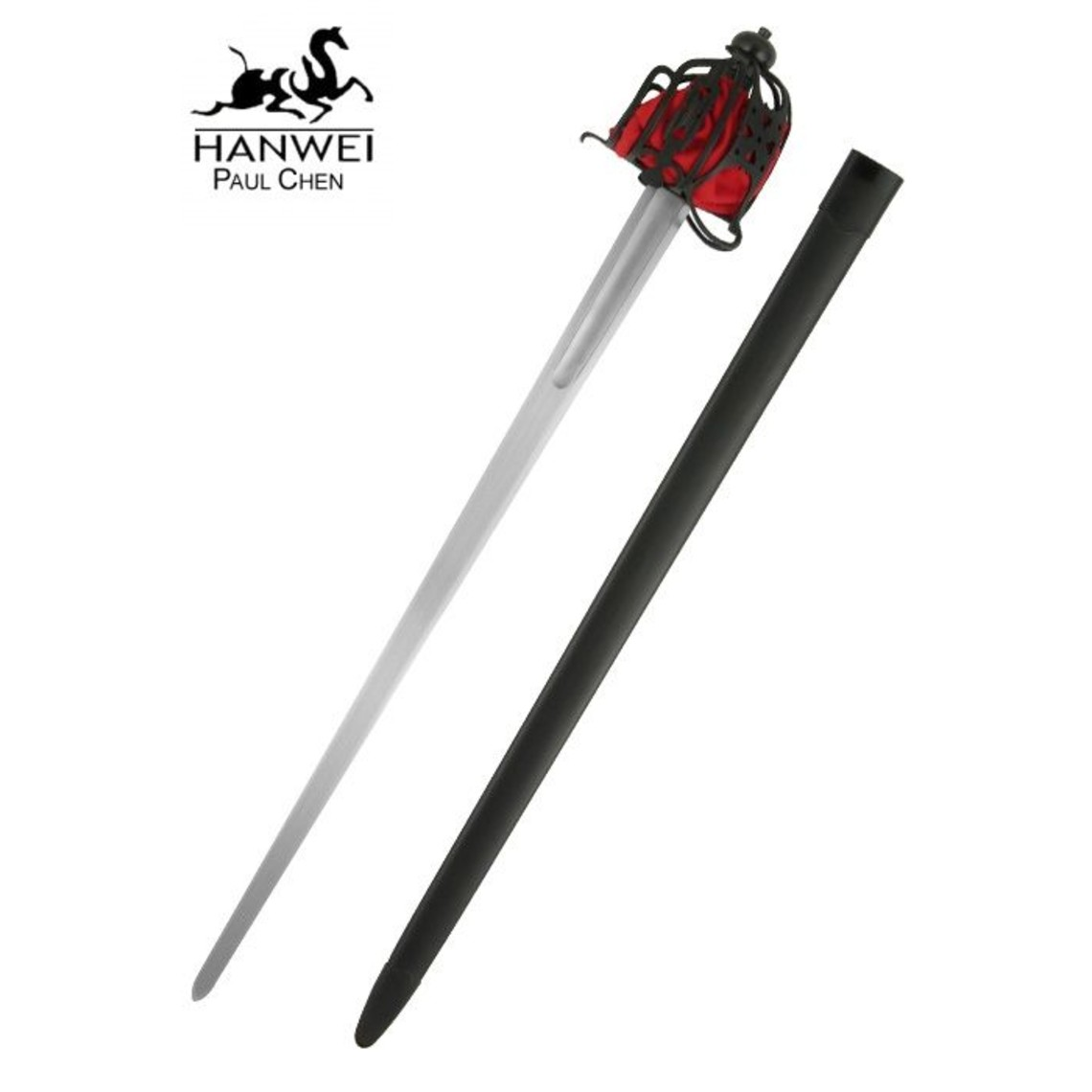 CAS Hanwei Battle-Ready Basket Hilt Broadsword