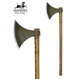 CAS Hanwei Viking Axe, postarzane