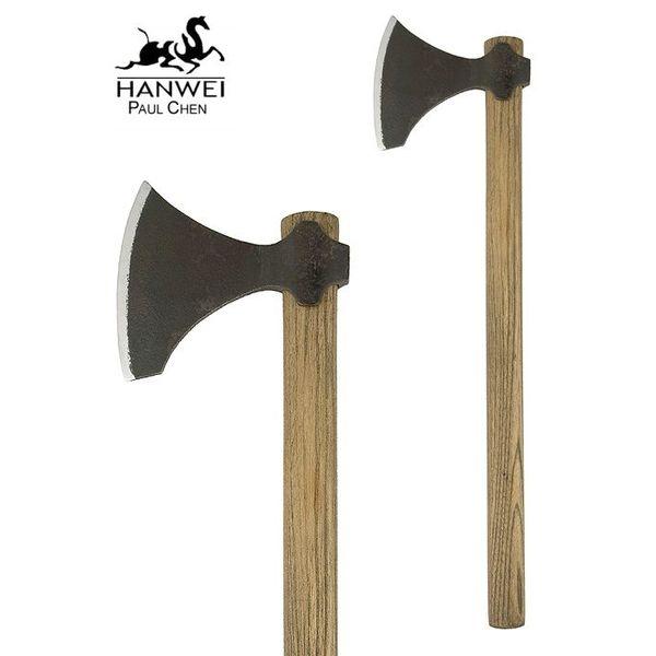 CAS Hanwei Short Viking Axe, postarzane