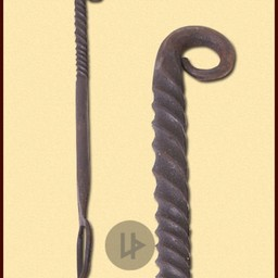 Eisen Gabel, handgeschmiedeten