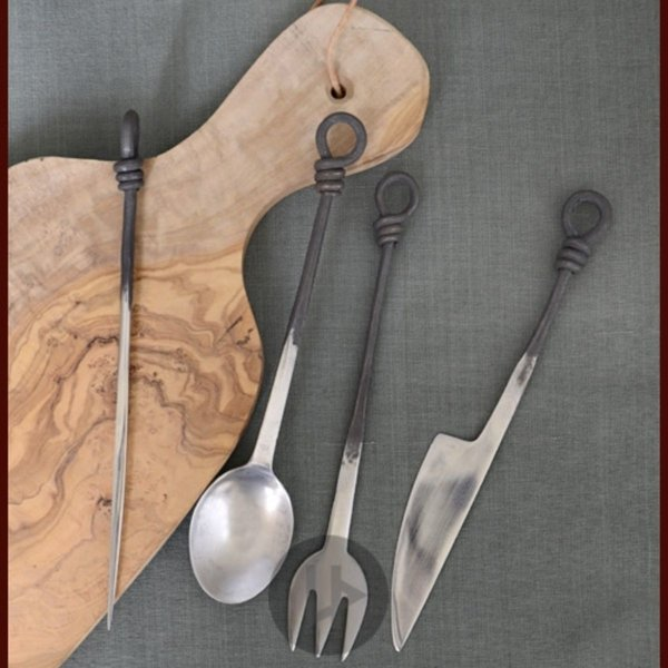 Ulfberth Medieval cutlery set stainless steel
