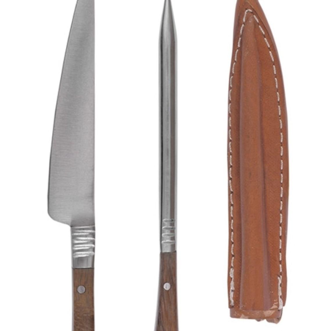 1300-talet bestick kniv och äta syl