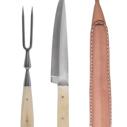 15th-16th century cutlery set knife and fork