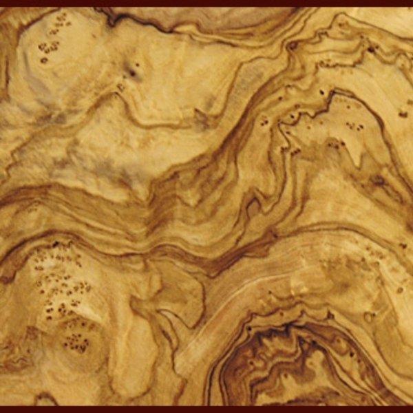 Cucharón de madera de olivo, 35 cm.
