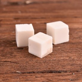 Ulfberth Bone dice blank, set of 3