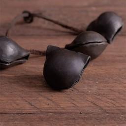 Cloche médiévale en fer forgé à la main