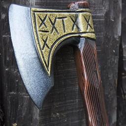 LARP Viking axe runes