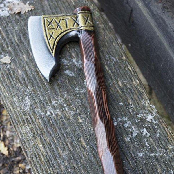 Epic Armoury LARP Viking axe runes