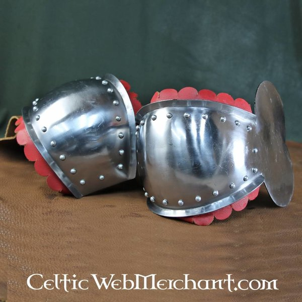 House of Warfare Knee caps with roundel, C-quality