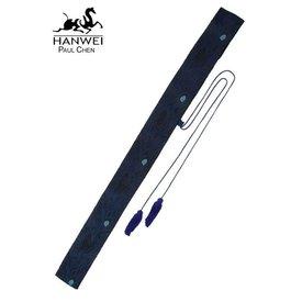 CAS Hanwei Sac pour sabres et bokken japonais, motifs de paon