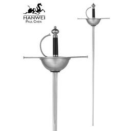 Cup Hilt Rapier , battle-ready (stumpf 3 mm)